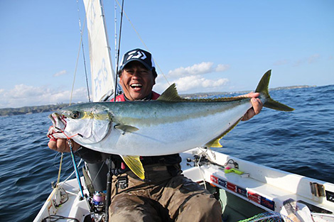 A Yellowtail amberjack just over 6kg. Just thinking about the fact that there are larger ones to be found thrills me.